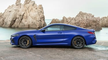 BMW M8 Competition - side static