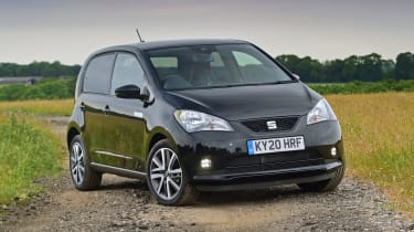 SEAT Mii electric UK - front static