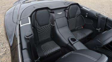 Aston Martin Vanquish S Volante - rear seats