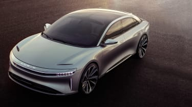 Lucid Air front