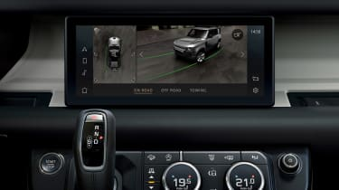 2019 Land Rover Defender camera