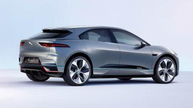 Jaguar I-Pace - studio rear