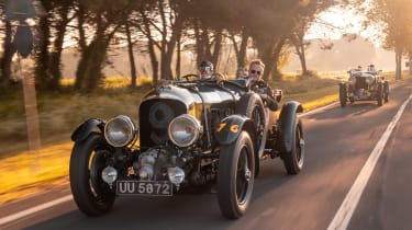 Bentley Blower continuation - front action