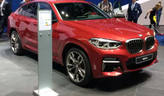 New BMW X4 revealed at Geneva