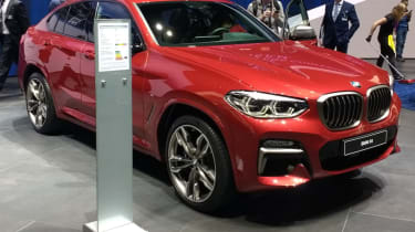 New BMW X4 revealed at Geneva