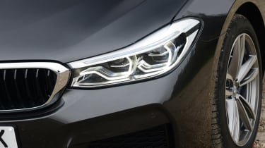 BMW 6 Series GT - front light detail
