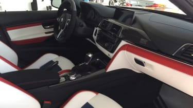 BMW M3 30th Anniversary US - interior