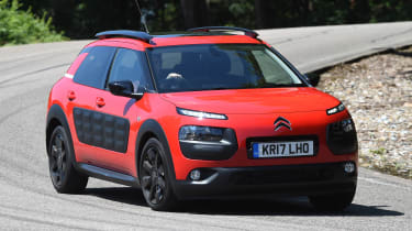 Citroen C4 Cactus review - front