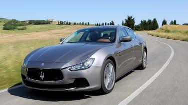 Maserati Ghibli front cornering