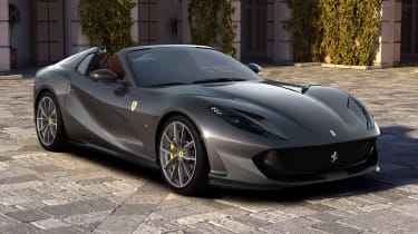 The epic Ferrari 812 Superfast is getting a convertible model called the 812 GTS. The 790bhp 6.5-litre V12 will probably sound even better, if that's possible.