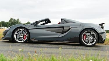 McLaren 600LT Spider - side static