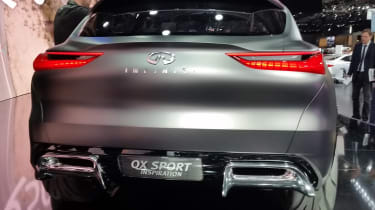 Infiniti QX Sport Inspiration - Paris rear