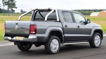 Used Volkswagen Amarok - rear action