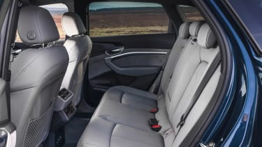 Audi e-tron - rear seats