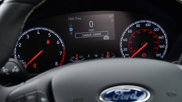 Ford Focus ST Estate - dials