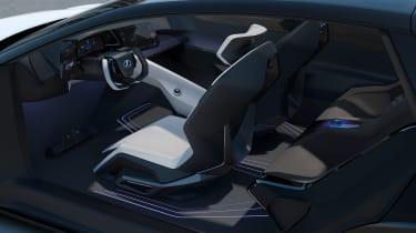 Lexus LF-Z Electrified concept - dash