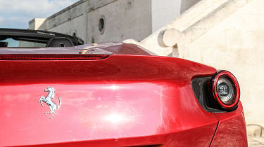 Ferrari Portofino - rear badge