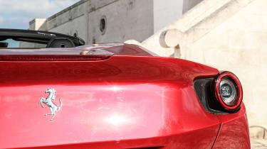 Ferrari Portofino - rear badge