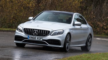 Mercedes-AMG C 63 S - front cornering
