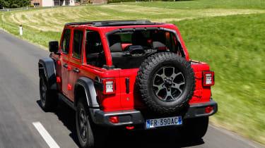 New Jeep Wrangler Rubicon - rear