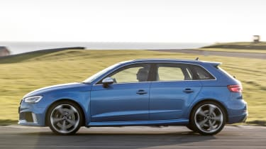 Audi RS3 long-term test review - side