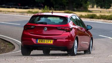 Vauxhall Astra - rear cornering