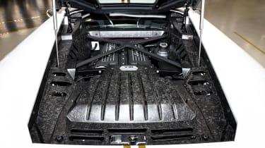 Pope Francis Lamborghini Huracan engine
