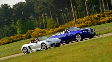 Convertible megatest - 718 Boxster and Dawn