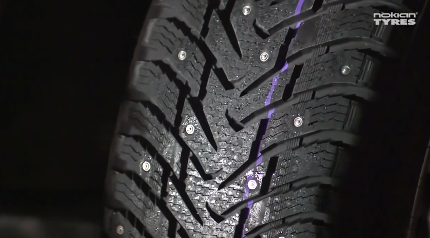 studded tyres have limitations