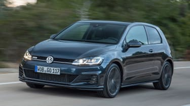 Volkswagen Golf GTD 2017 facelift - front tracking