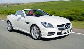Mercedes SLK 250 CDI front tracking