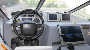 ZIL Russian Humvee army concept interior