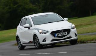 Mazda 2 Sport Black front