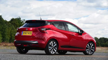 Nissan Micra - rear static