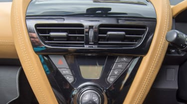 Searching for the Aston Martin Cygnet - dashboard