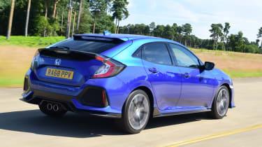 Honda Civic - rear tracking