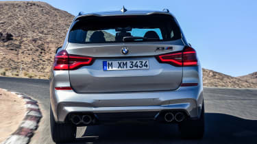 BMW X3 M Competition - full rear