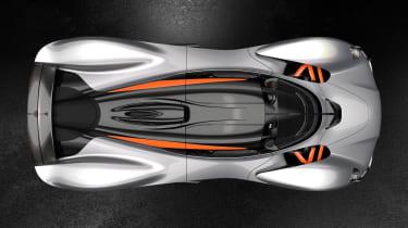 Aston Martin Valkyrie Spirit - above
