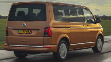 Volkswagen Caravelle - rear tracking