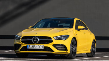 Mercedes-AMG CLA 35 - front static