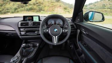 New BMW M2 Coupe UK - interior