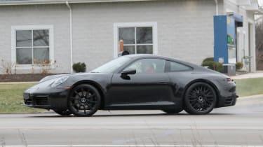 Porsche 911 spy side