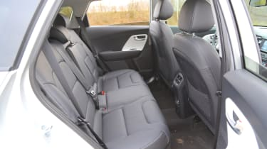 Kia Niro 2016 review - rear seats