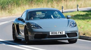 Porsche 718 Cayman - best cars for less than £10 per day