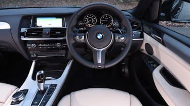 BMW X4 - dash