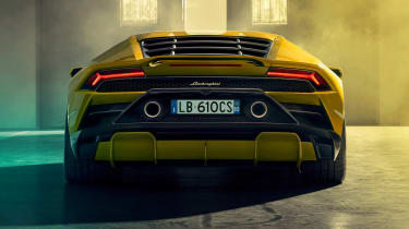 Lamborghini Huracan EVO RWD - rear static