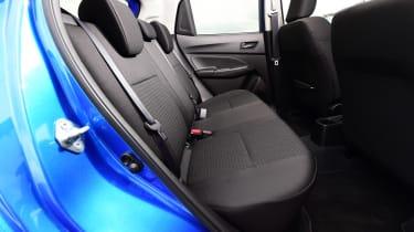 Suzuki Swift - rear seats