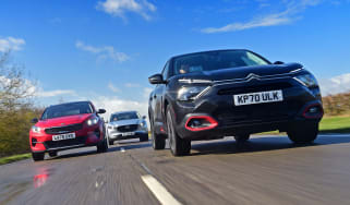 Citroen C4 vs Mazda CX-30 vs Kia XCeed