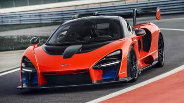 McLaren Senna prototype - front