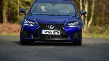 New Lexus GS F 2016 - front cornering